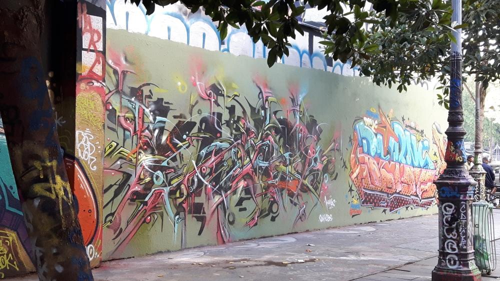 graffiti street art henri nogueres paris