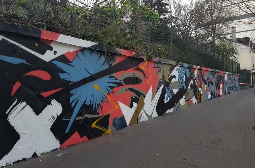 Socrome street art paris