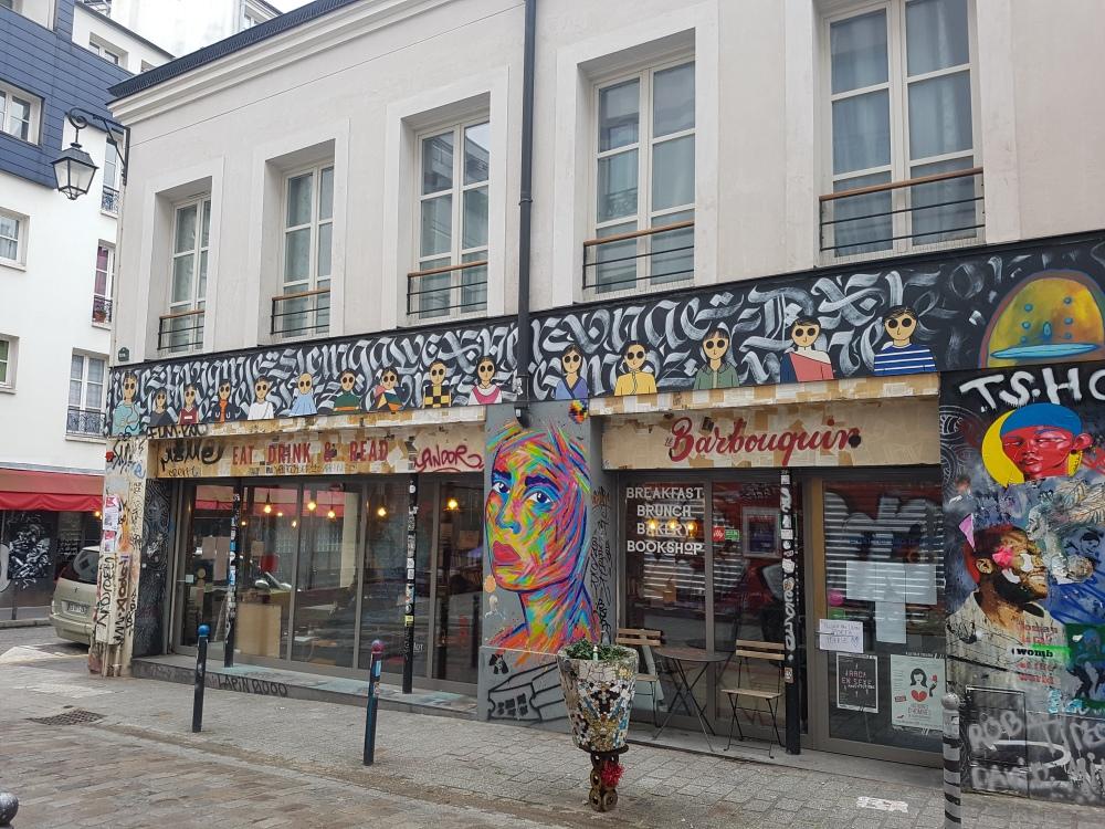 manyoly kamlaurene street art paris