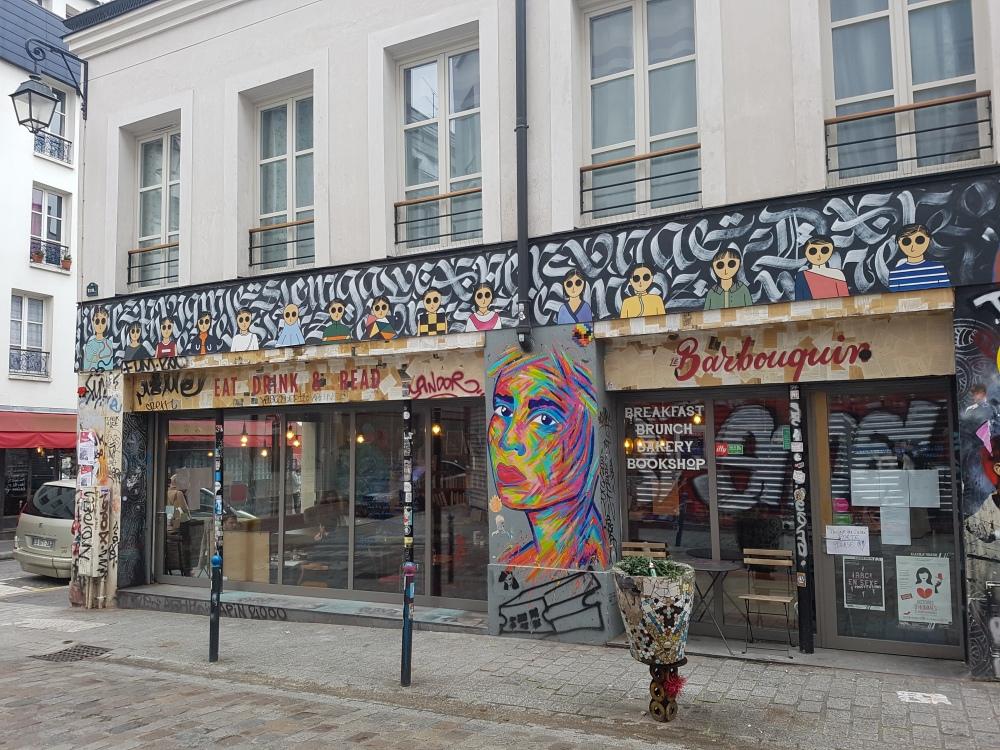 kamlauren street art rue denoyez