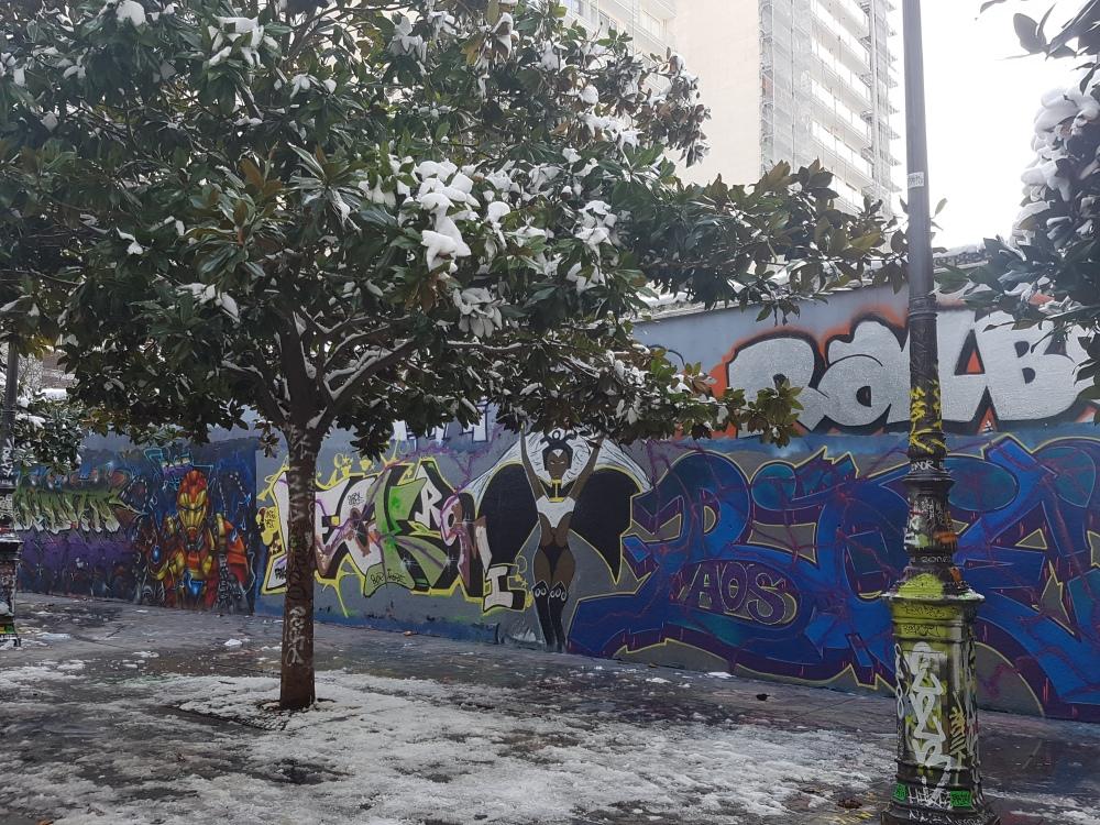 street art graffiti rue henri nogueres paris
