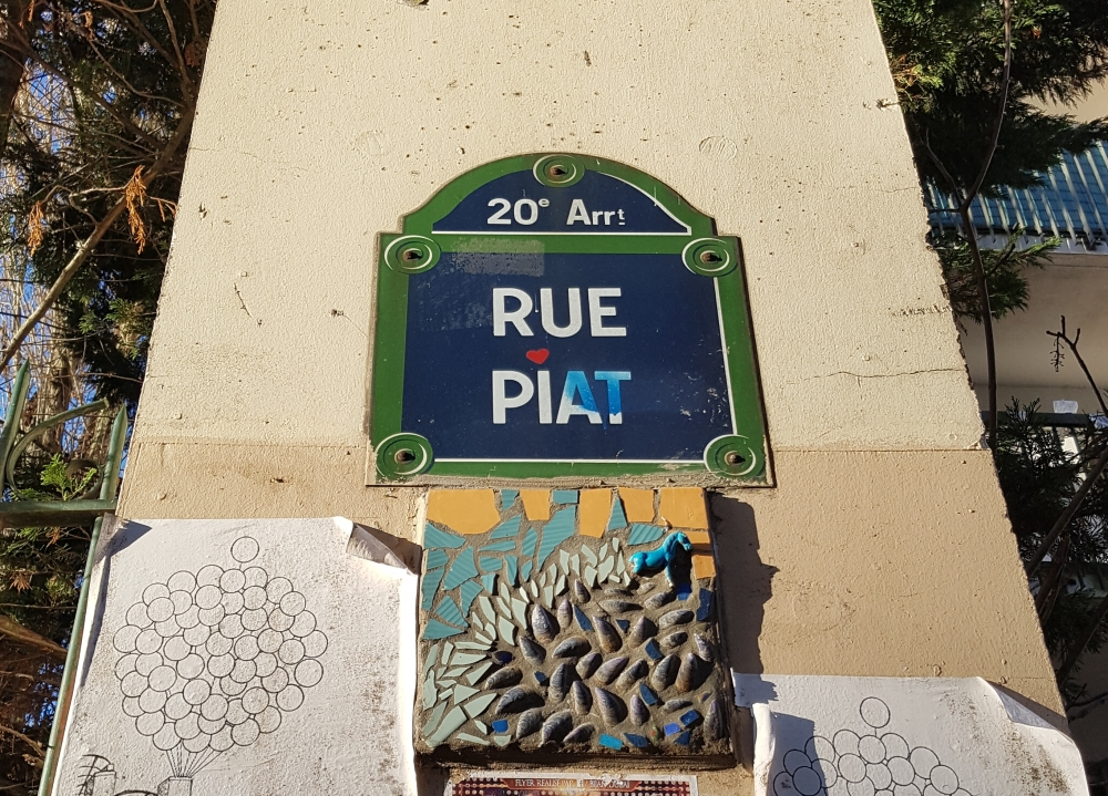 Rue piat paris