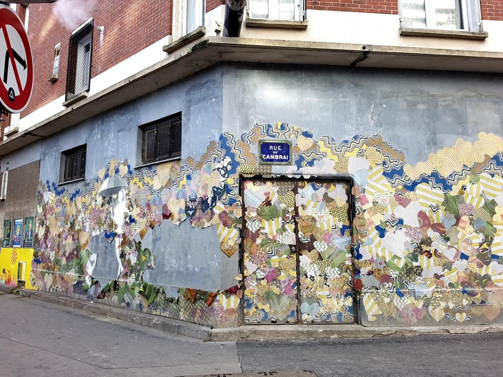 Myriam Maxo street art paris