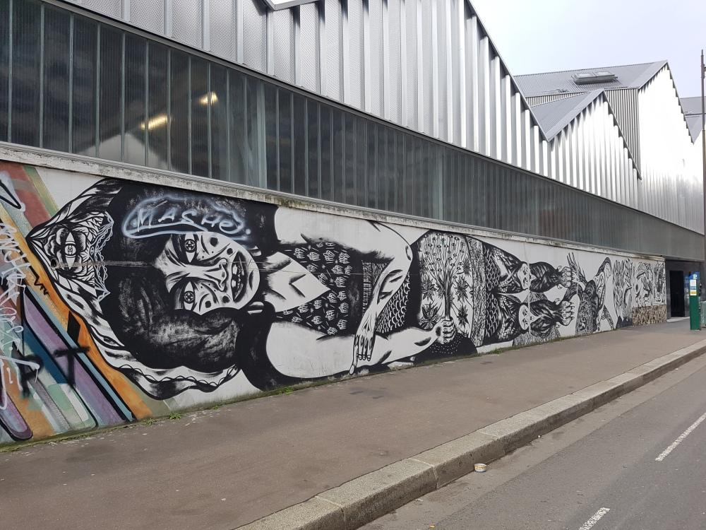 kadjastroph street art paris rosa parks
