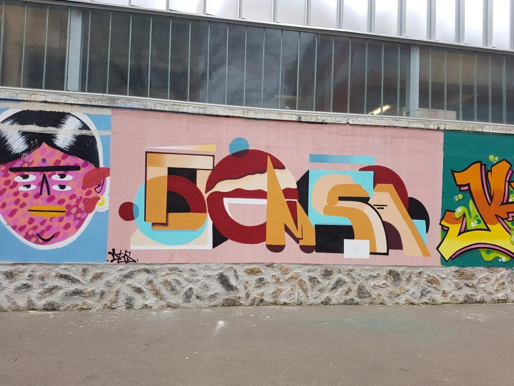 street art rosa parks paris