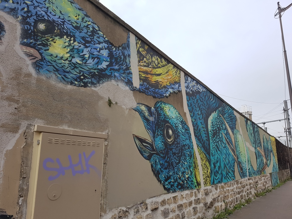 street art rosa parks bastardilla paris