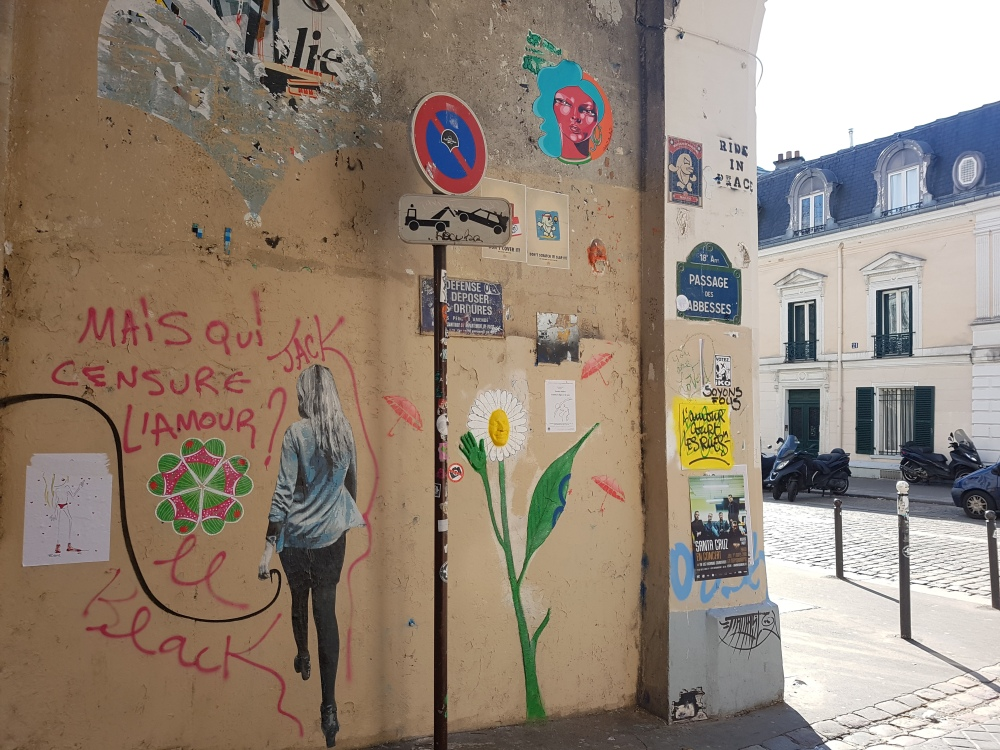 street art paris montmartre
