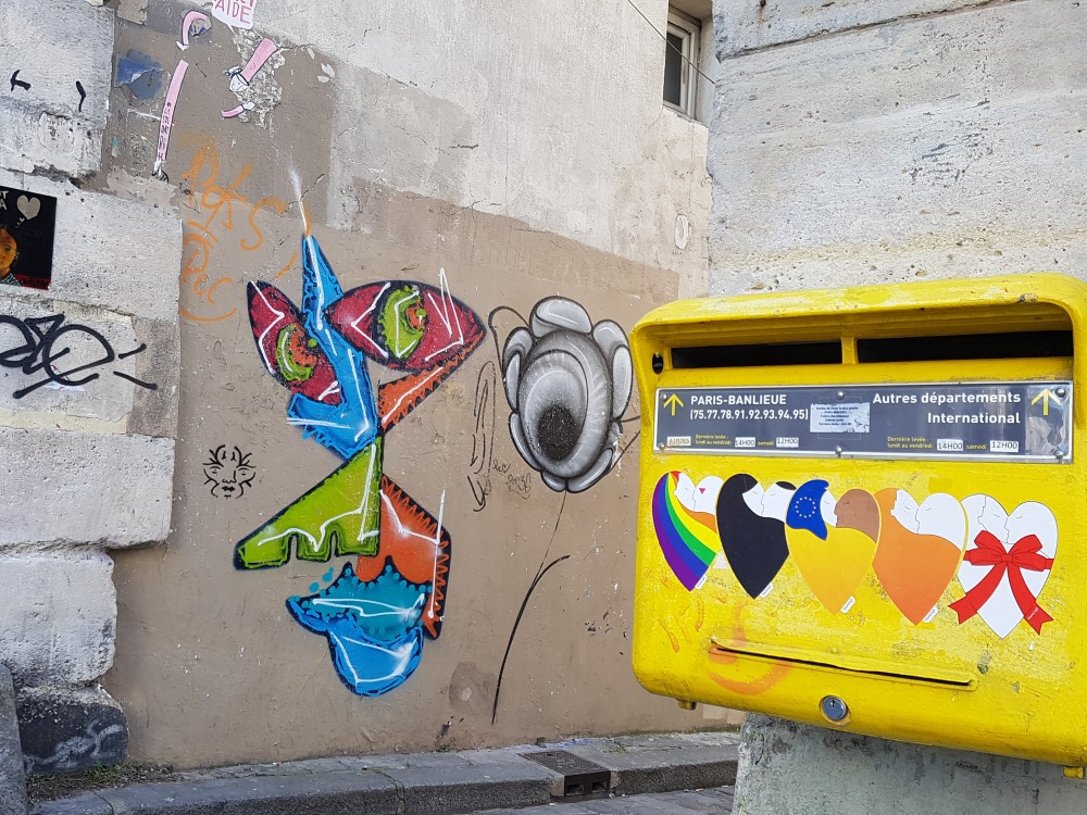 street art graffiti paris montmartre