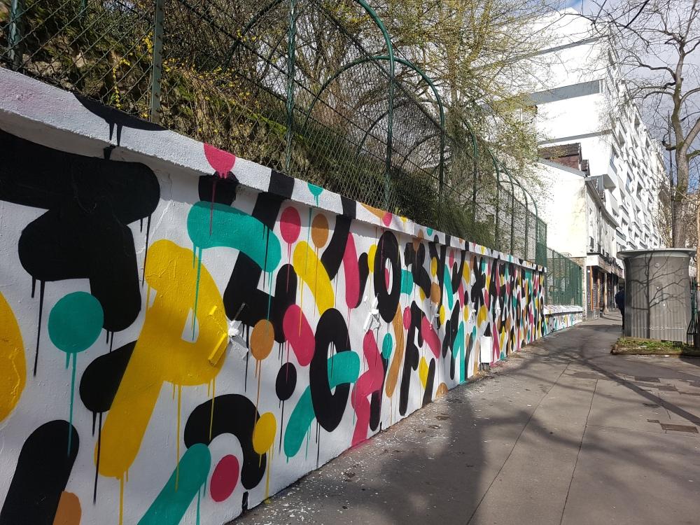 vision86 graffiti street art paris