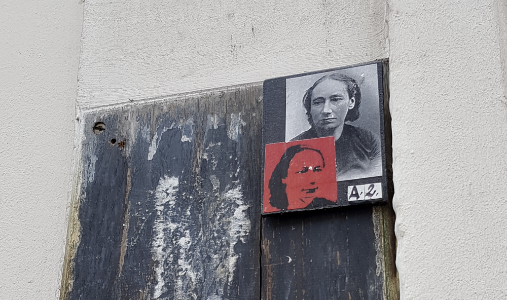 a2 louise michel street art