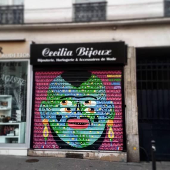 kashink street art rue bagnolet