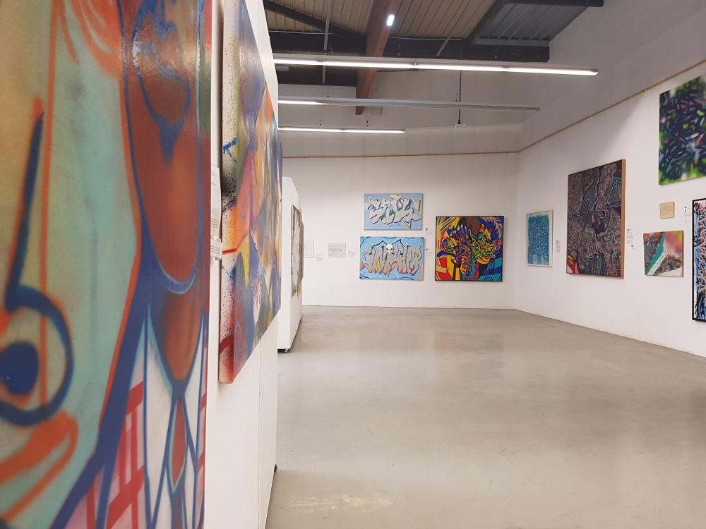 aerosol maquis art musee paris