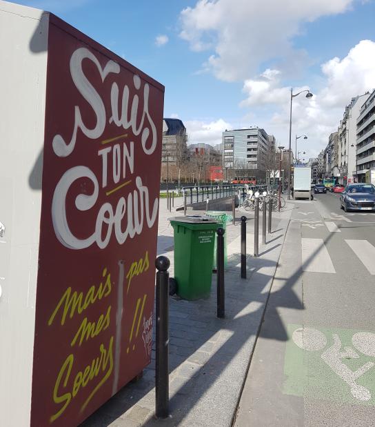 toque freres street art paris