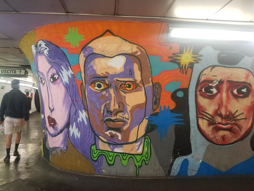 street art rome piazza spagna