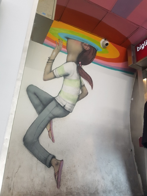 seth street art rome piazza spagna