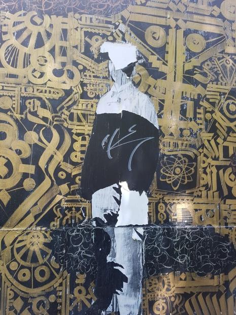 tarek benaoum street art paris 15