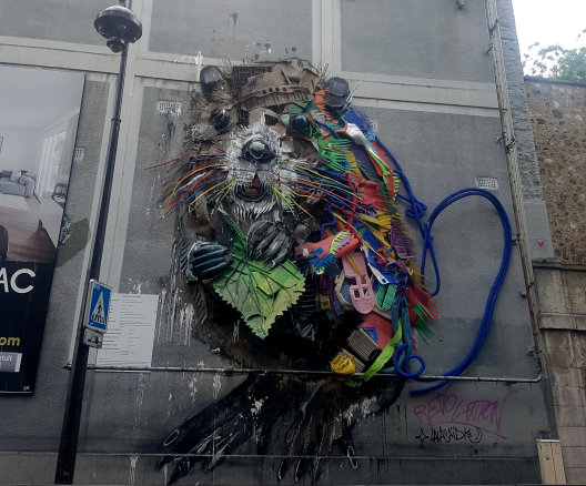 bordalo street art paris 13