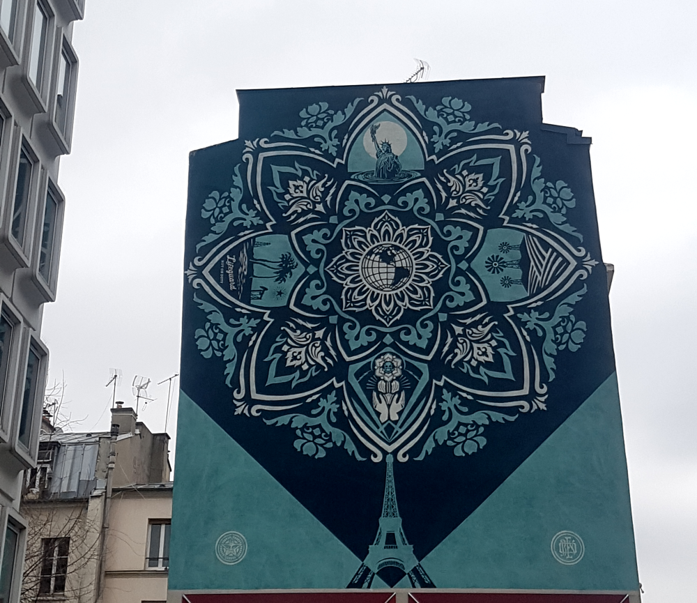obey giant paris 13 street art