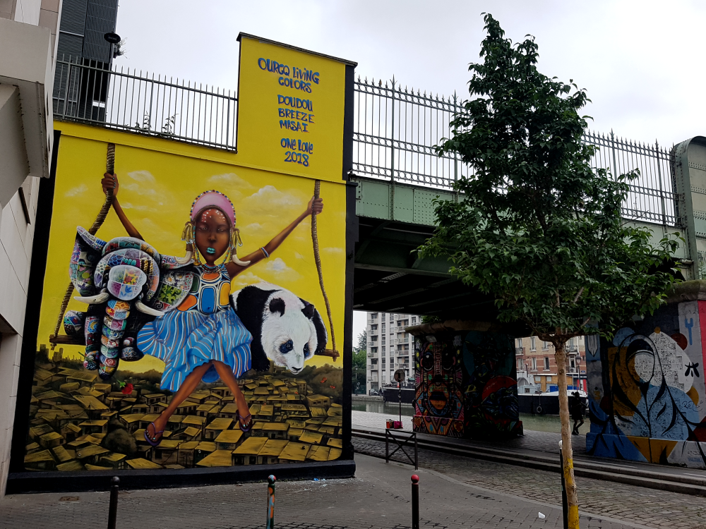 ourcq living colors 2018 street art