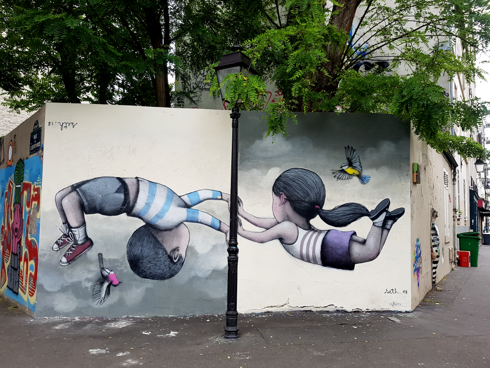 seth street art graffiti paris 13