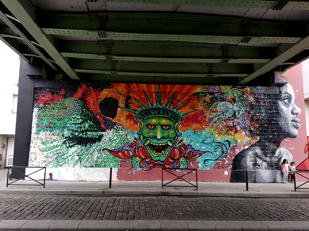 street art ourcq living colors 2018