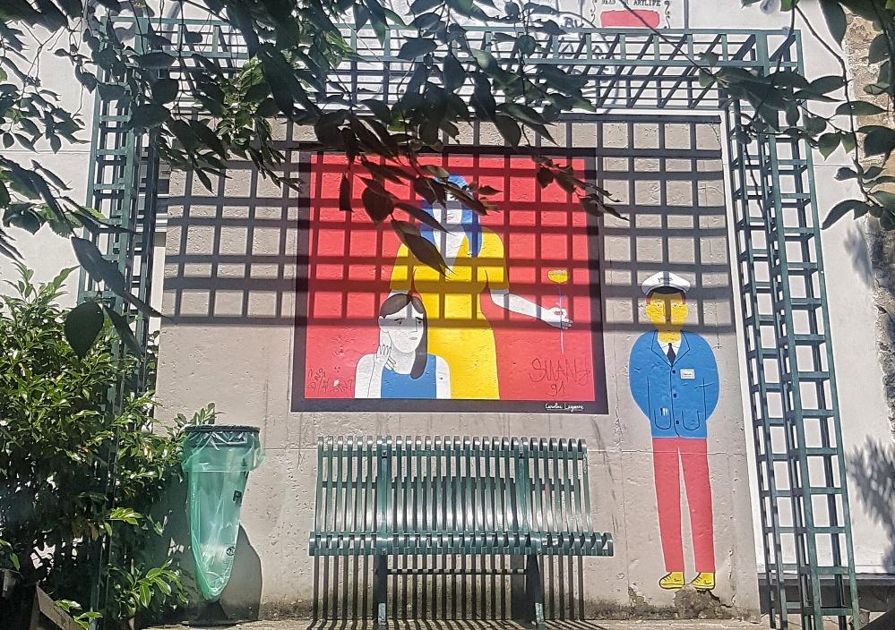 coulee verte street art caroline laguerre