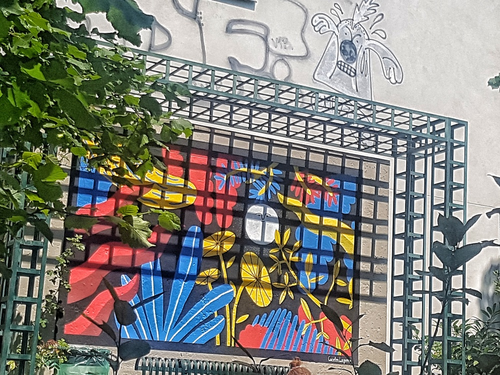 street art coulee verte paris 12