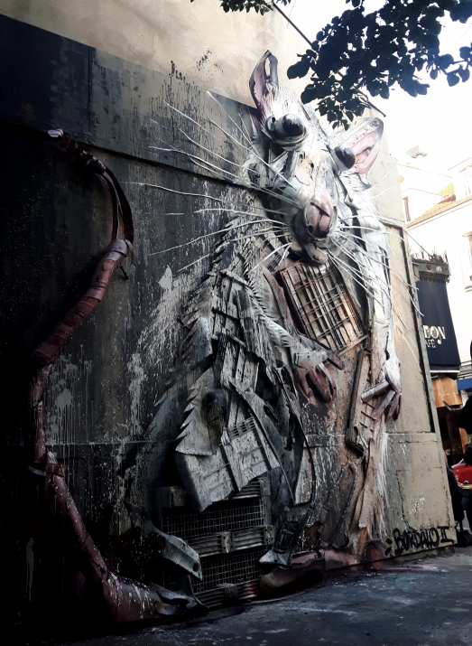 bordalo street art paris 11