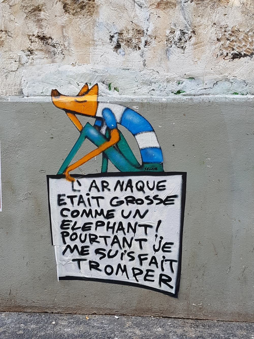 david selor street art paris 11