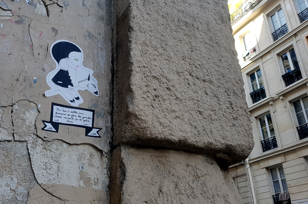 fred lechevalier street art paris 11