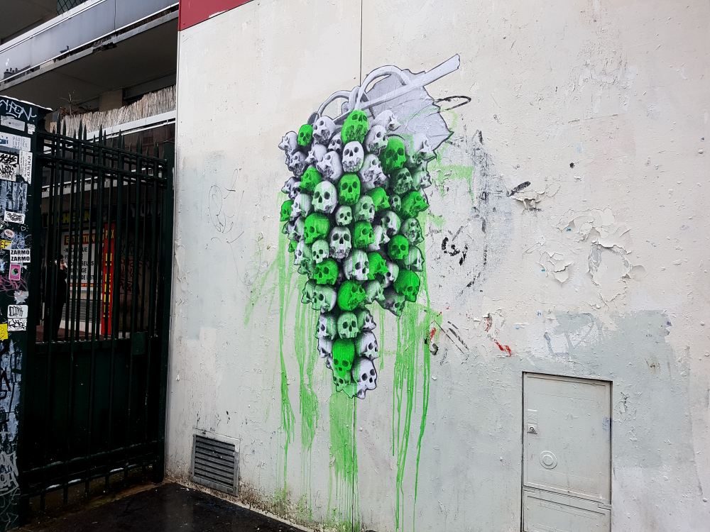 ludo street art paris 11