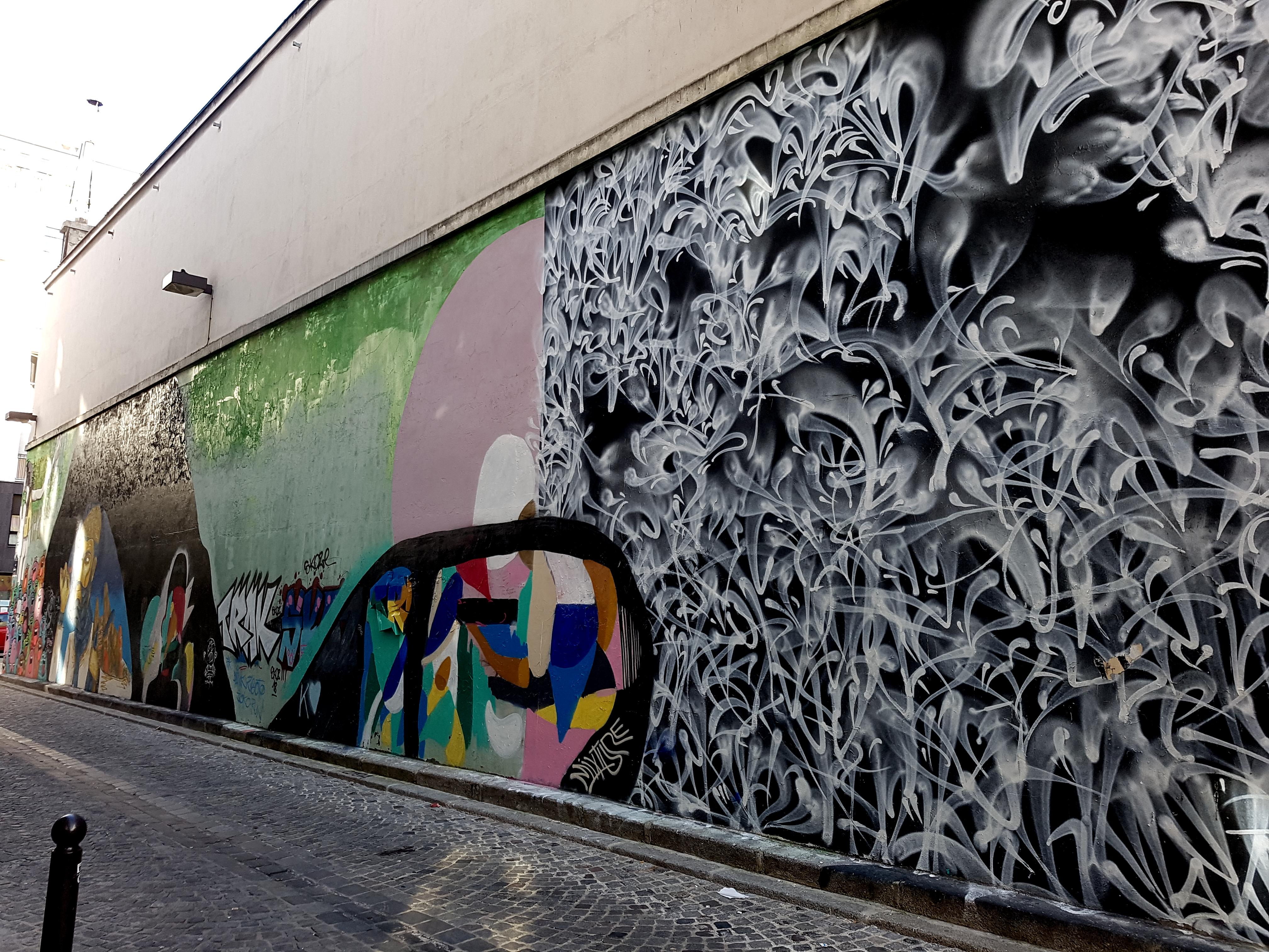 rafael sliks street art paris 10