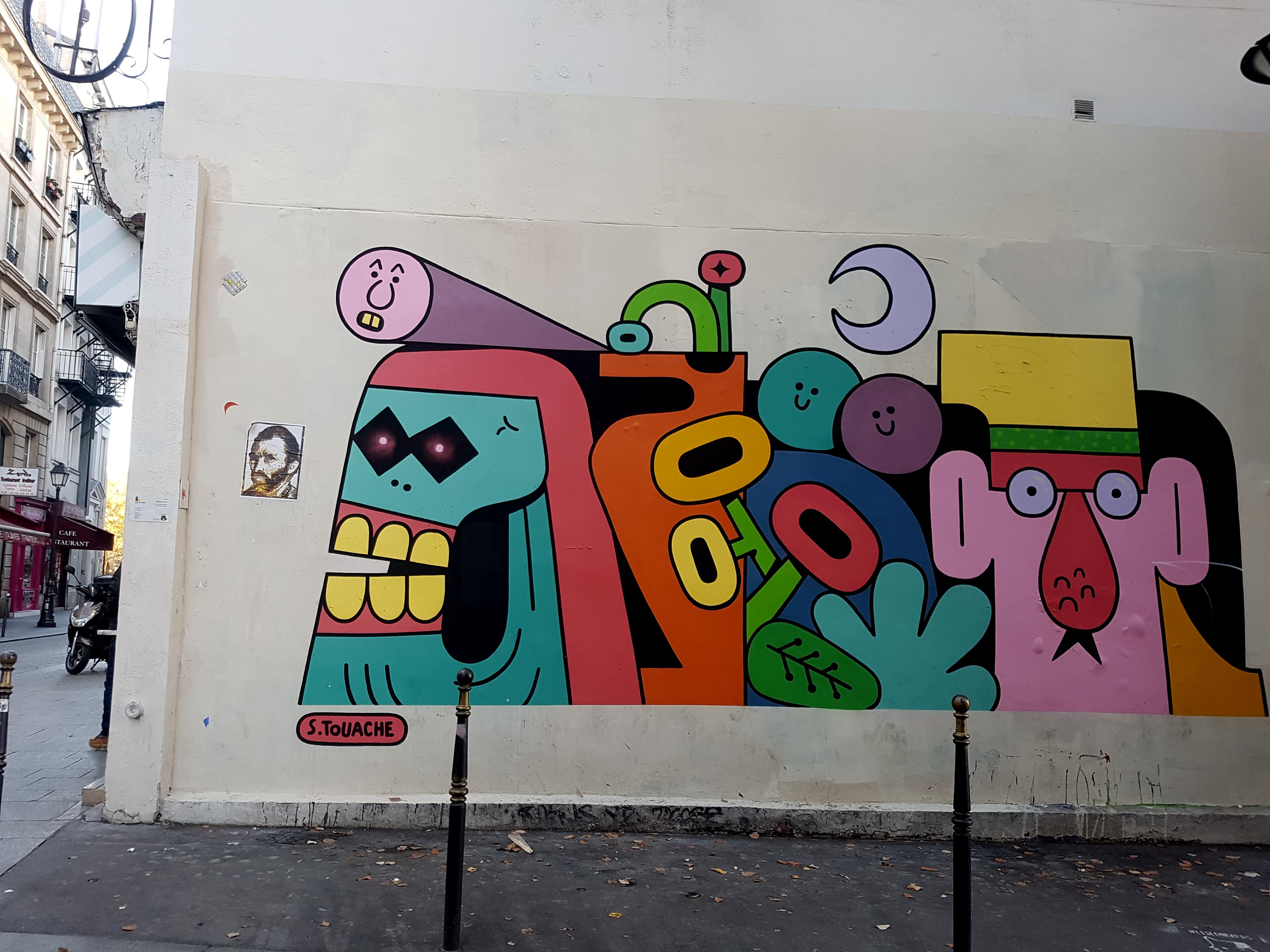 sebastien touache street art paris 10