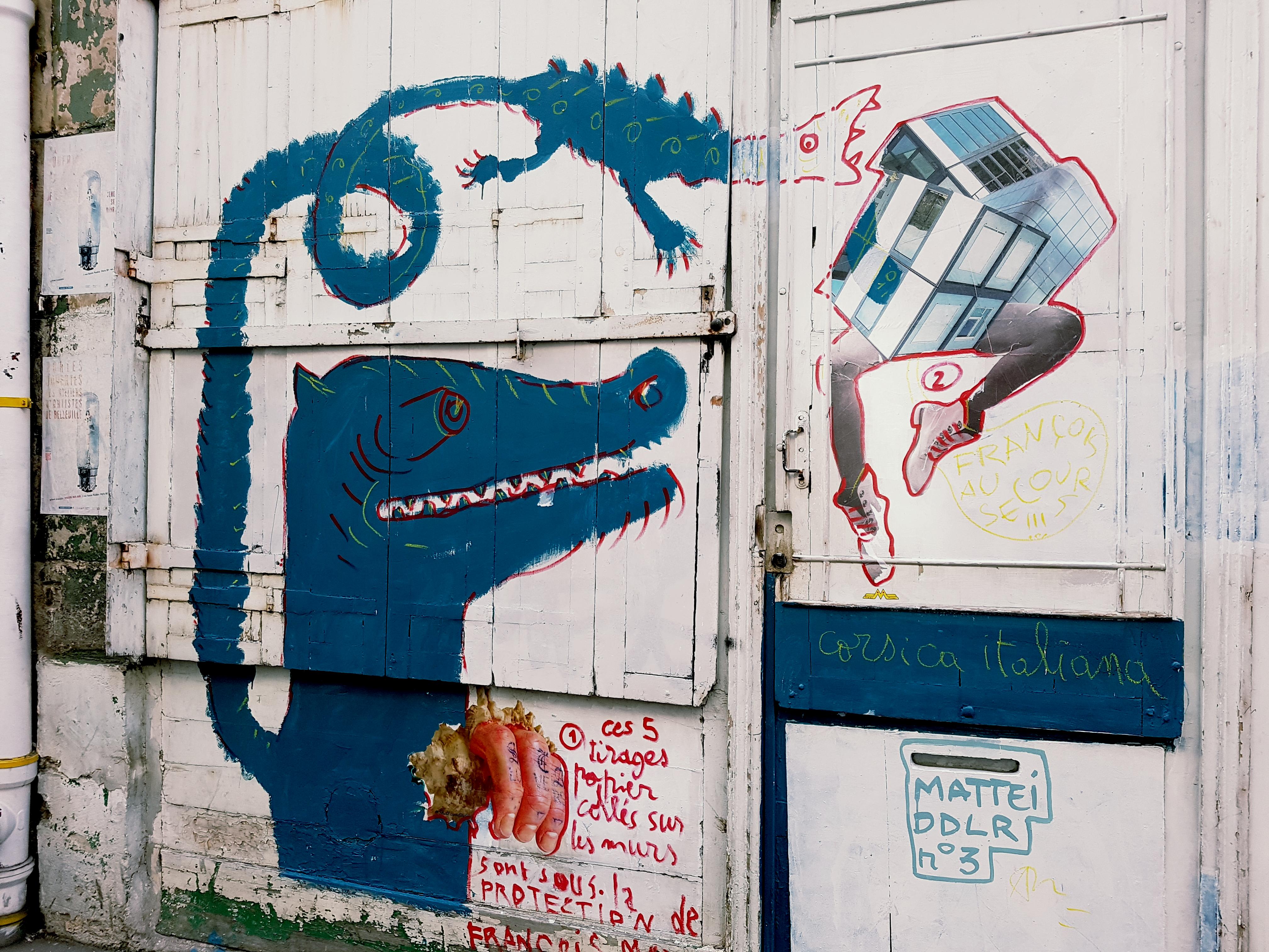 street art graffiti rue sainte marthe
