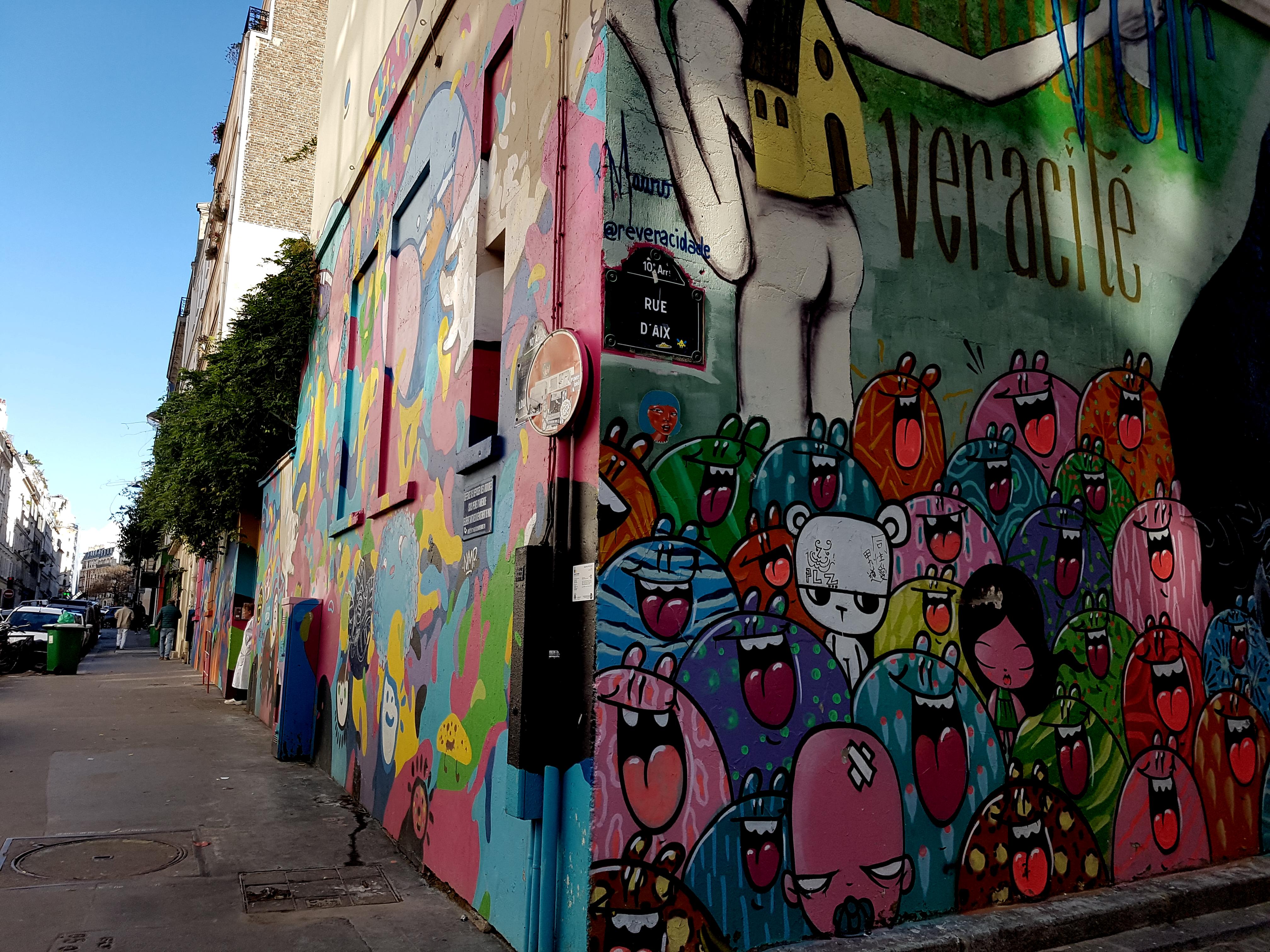 street art paris les 3 murs