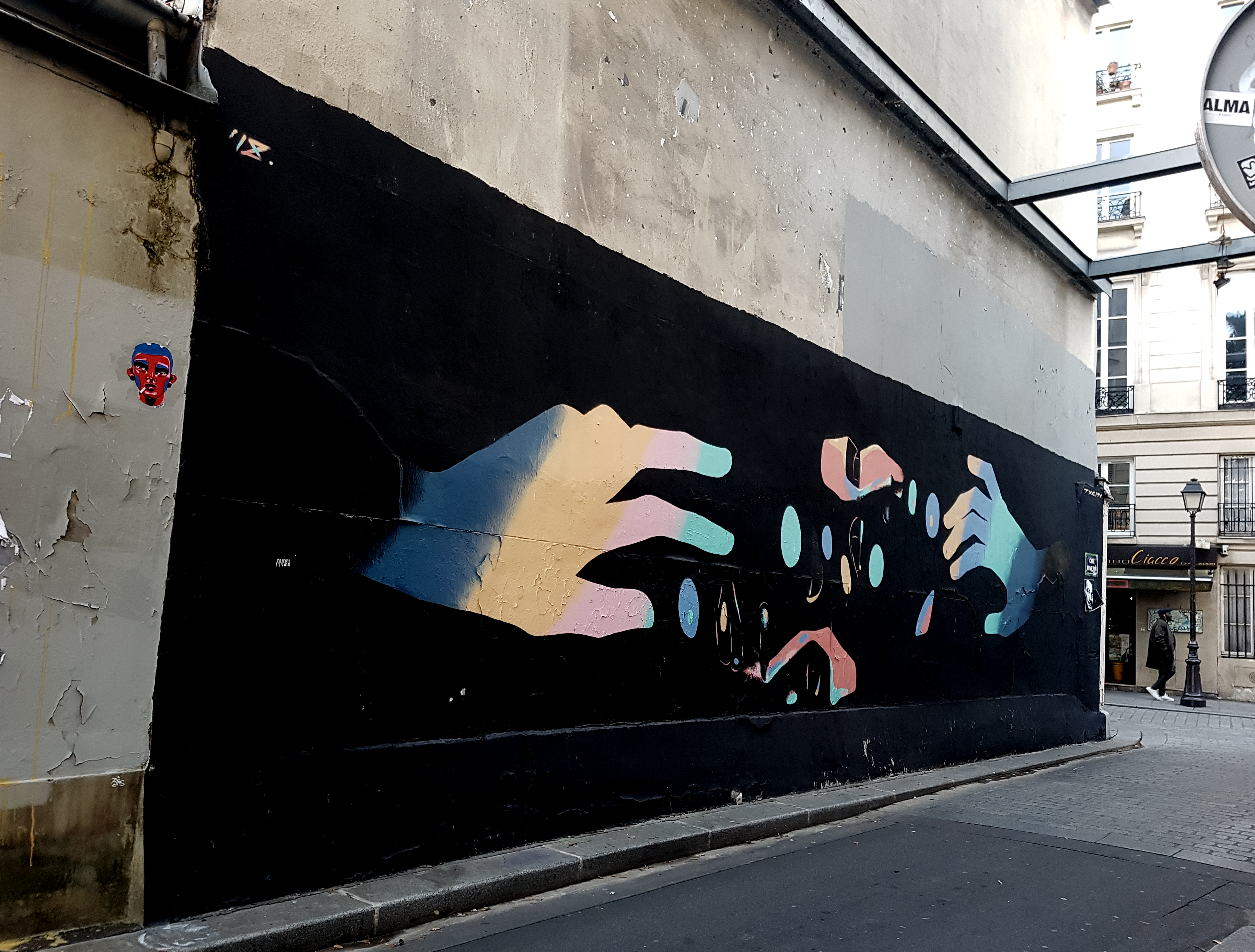 txemy street art paris 10