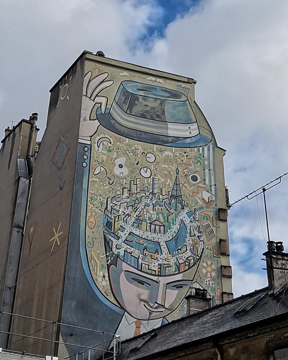 fresque rue lafayette paris