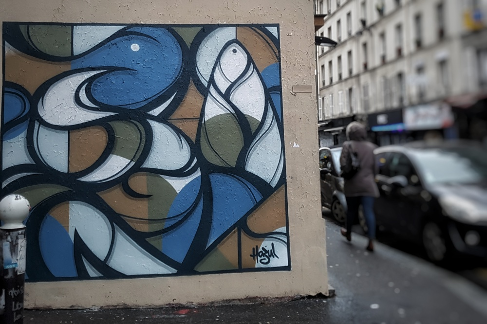 hazul graffiti paris