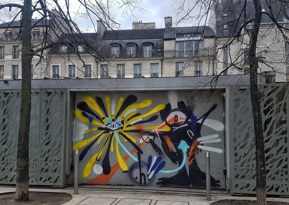h graffiti paris